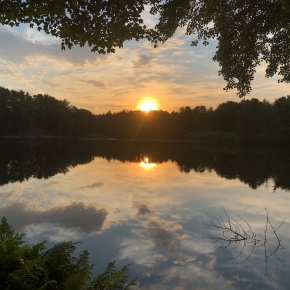 Thinking about sunrise